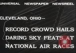 Image of National Air Race Cleveland Ohio USA, 1932, second 9 stock footage video 65675063638