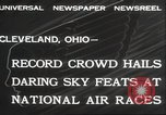 Image of National Air Race Cleveland Ohio USA, 1932, second 10 stock footage video 65675063638