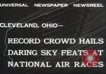 Image of National Air Race Cleveland Ohio USA, 1932, second 12 stock footage video 65675063638