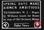 Image of Roger Q Williams Maine United States USA, 1929, second 3 stock footage video 65675063648
