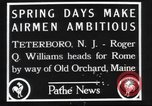 Image of Roger Q Williams Maine United States USA, 1929, second 4 stock footage video 65675063648