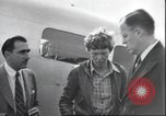 Image of Amelia Earhart Putnam Oakland California United States USA, 1937, second 58 stock footage video 65675063652
