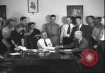 Image of Senator Harry S Truman Kansas City Missouri United States USA, 1940, second 57 stock footage video 65675063660