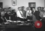 Image of Senator Harry S Truman Kansas City Missouri United States USA, 1940, second 58 stock footage video 65675063660