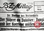 Image of German soldiers Germany, 1939, second 13 stock footage video 65675063665