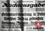 Image of German soldiers Germany, 1939, second 18 stock footage video 65675063665