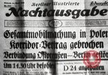 Image of German soldiers Germany, 1939, second 20 stock footage video 65675063665