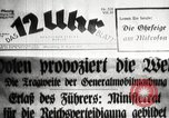 Image of German soldiers Germany, 1939, second 22 stock footage video 65675063665