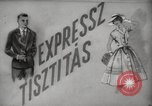Image of instant dry cleaning Hungary, 1960, second 14 stock footage video 65675063688