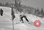 Image of Pre-Olympic skiing Austria, 1960, second 18 stock footage video 65675063691