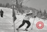Image of Pre-Olympic skiing Austria, 1960, second 19 stock footage video 65675063691