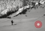 Image of Pre-Olympic skiing Austria, 1960, second 49 stock footage video 65675063691