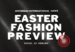 Image of Easter hat preview New York United States USA, 1960, second 3 stock footage video 65675063693