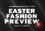 Image of Easter hat preview New York United States USA, 1960, second 5 stock footage video 65675063693