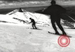 Image of skiing in spring Argentina, 1960, second 27 stock footage video 65675063694