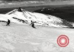 Image of skiing in spring Argentina, 1960, second 30 stock footage video 65675063694
