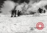 Image of skiing in spring Argentina, 1960, second 38 stock footage video 65675063694