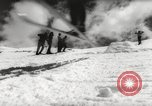 Image of skiing in spring Argentina, 1960, second 39 stock footage video 65675063694