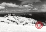 Image of skiing in spring Argentina, 1960, second 44 stock footage video 65675063694
