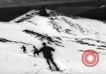 Image of skiing in spring Argentina, 1960, second 51 stock footage video 65675063694