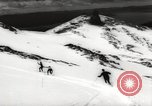Image of skiing in spring Argentina, 1960, second 52 stock footage video 65675063694