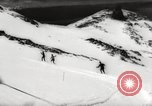 Image of skiing in spring Argentina, 1960, second 53 stock footage video 65675063694