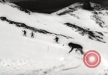 Image of skiing in spring Argentina, 1960, second 54 stock footage video 65675063694