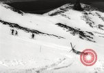 Image of skiing in spring Argentina, 1960, second 55 stock footage video 65675063694