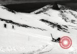 Image of skiing in spring Argentina, 1960, second 56 stock footage video 65675063694