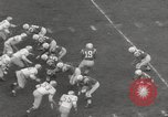 Image of Football match Baltimore Maryland USA, 1960, second 7 stock footage video 65675063696