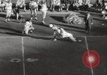 Image of Football match Baltimore Maryland USA, 1960, second 13 stock footage video 65675063696