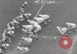 Image of Football match Baltimore Maryland USA, 1960, second 26 stock footage video 65675063696