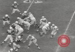 Image of Football match Baltimore Maryland USA, 1960, second 27 stock footage video 65675063696