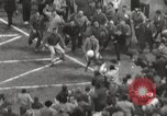 Image of Football match Baltimore Maryland USA, 1960, second 48 stock footage video 65675063696