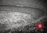 Image of Football match Baltimore Maryland USA, 1960, second 50 stock footage video 65675063696