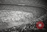 Image of Football match Baltimore Maryland USA, 1960, second 51 stock footage video 65675063696