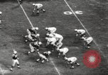 Image of Football match Baltimore Maryland USA, 1960, second 56 stock footage video 65675063696