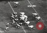 Image of Football match Baltimore Maryland USA, 1960, second 58 stock footage video 65675063696