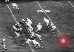 Image of Football match Baltimore Maryland USA, 1960, second 59 stock footage video 65675063696
