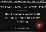 Image of Skating rink on rooftop Chicago Illinois USA, 1929, second 2 stock footage video 65675063701