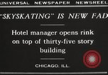 Image of Skating rink on rooftop Chicago Illinois USA, 1929, second 8 stock footage video 65675063701