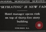 Image of Skating rink on rooftop Chicago Illinois USA, 1929, second 12 stock footage video 65675063701