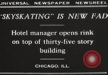Image of Skating rink on rooftop Chicago Illinois USA, 1929, second 13 stock footage video 65675063701