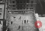 Image of Skating rink on rooftop Chicago Illinois USA, 1929, second 21 stock footage video 65675063701