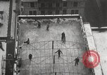 Image of Skating rink on rooftop Chicago Illinois USA, 1929, second 22 stock footage video 65675063701