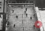 Image of Skating rink on rooftop Chicago Illinois USA, 1929, second 23 stock footage video 65675063701