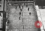 Image of Skating rink on rooftop Chicago Illinois USA, 1929, second 25 stock footage video 65675063701
