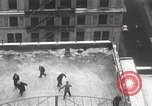 Image of Skating rink on rooftop Chicago Illinois USA, 1929, second 34 stock footage video 65675063701