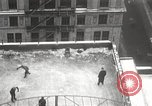 Image of Skating rink on rooftop Chicago Illinois USA, 1929, second 36 stock footage video 65675063701