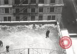 Image of Skating rink on rooftop Chicago Illinois USA, 1929, second 37 stock footage video 65675063701